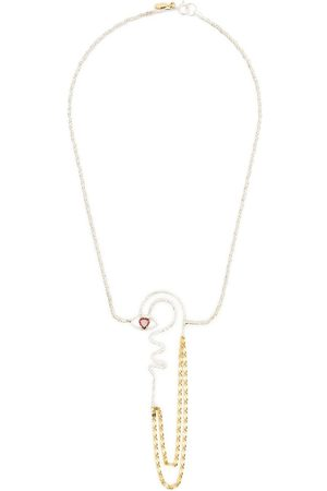 WOUTERS & HENDRIX Women Necklaces - NECKLACE WITH HEART SHAPED GARNET