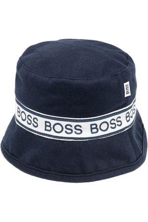 HUGO BOSS Baby Hats - Logo-band bucket hat