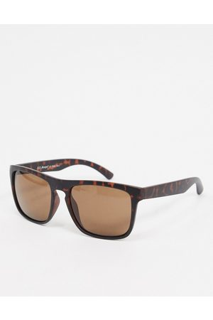 AJ Morgan Square sunglasses in tortoise shell