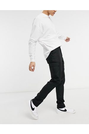 ASOS DESIGN Skinny cargo smart trouser in