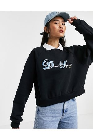 Local Heroes Relaxed sweatshirt with collar and drama specialist graphic