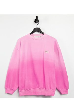 Loose Threads Relaxed lounge sweatshirt in ombre co-ord