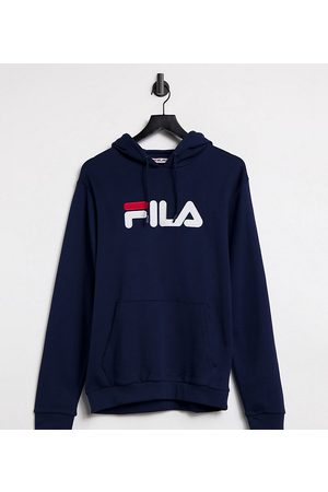 Fila Large chest logo oversized hoodie in exclusive to ASOS