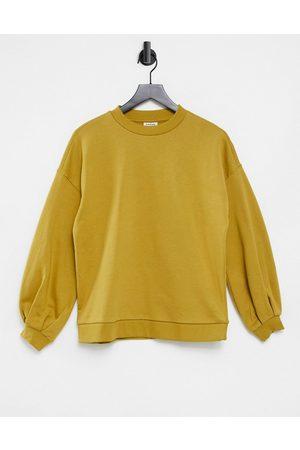 Vero Moda Aware sweater in mustard