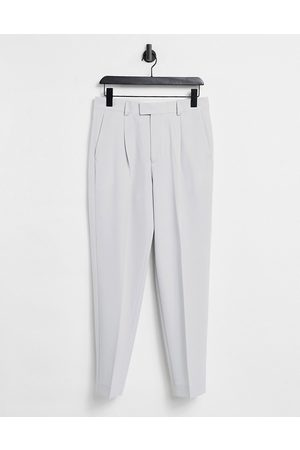 ASOS DESIGN Oversized tapered smart trousers in