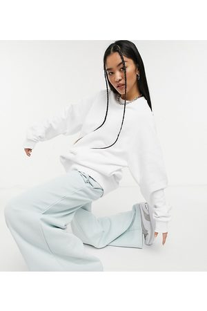Collusion Oversized embroidered sweatshirt in