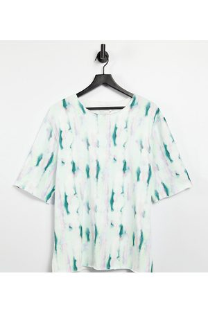 ASOS KENYA relaxed fit tie dye t-shirt co ord