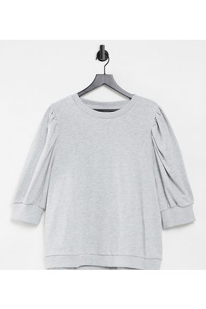 Only Curve Sweatshirt with volume sleeve in