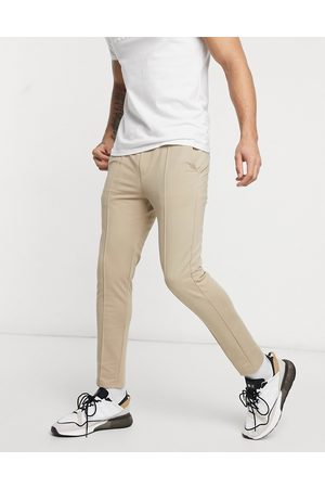 Only & Sons Co-ord trousers with elasticated waist in tan
