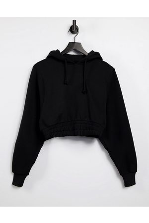 ASOS 4505 Cropped hoodie with elasticated waist