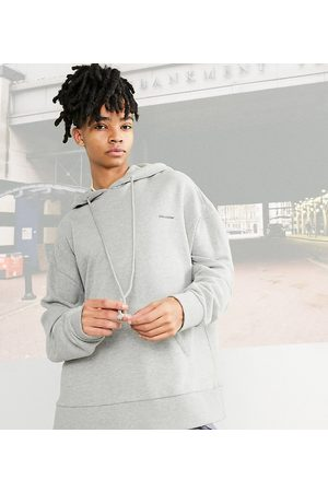 COLLUSION Oversized hoodie in marl fabric co-ord