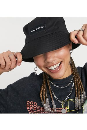 Collusion Unisex bucket hat with logo patch