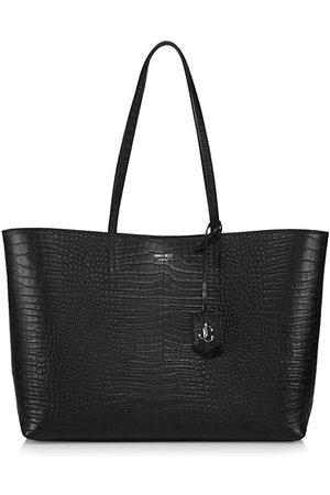 Jimmy Choo Women Handbags - Nine2Five Snakeskin-Embossed Leather Tote