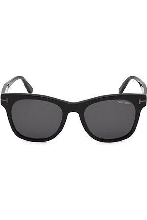Tom Ford Sunglasses - Shiny Smoke 54MM Square Sunglasses