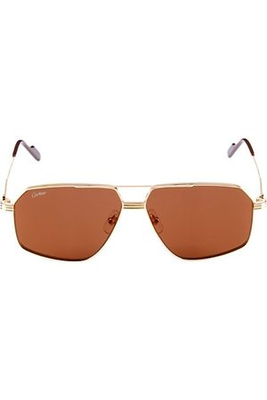 Cartier Core Range 61MM Pilot Sunglasses