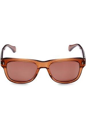 Cartier Initiation 55MM Rectangular Sunglasses