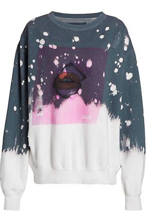 LA DETRESSE Acid Drop Graphic Sweatshirt