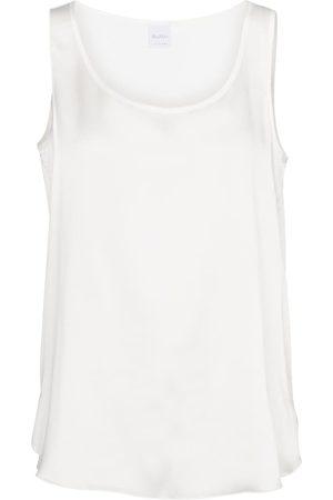 Max Mara Leisure Pan stretch-silk tank top