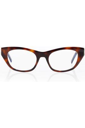 Saint Laurent Tortoiseshell cat-eye glasses