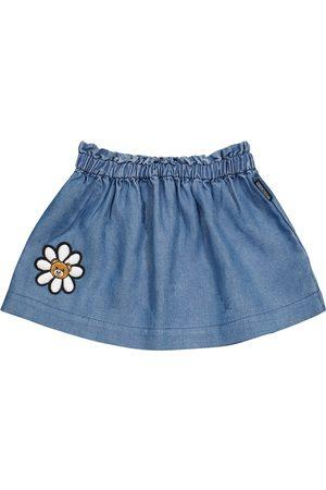 Moschino Girls Denim Skirts - Baby denim skirt