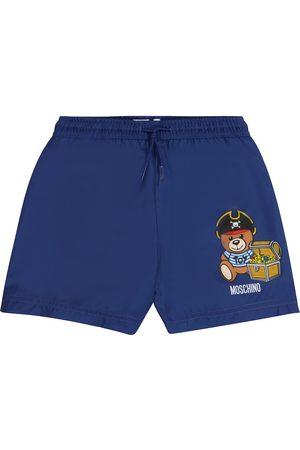 Moschino Logo swimming trunks