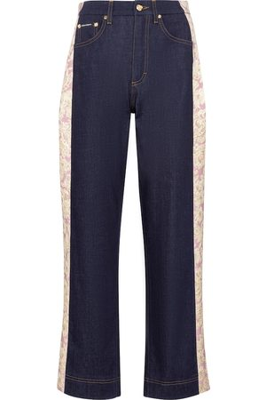 Dolce & Gabbana Women High Waisted - High-rise straight jeans