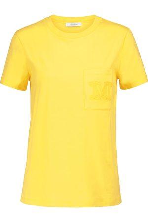 Max Mara Women Short Sleeve - Diego cotton jersey T-shirt
