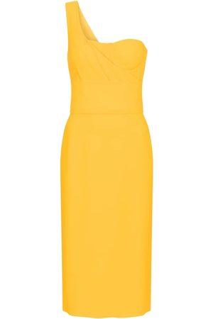 Dolce & Gabbana Women Midi Dresses - One-shoulder midi dress