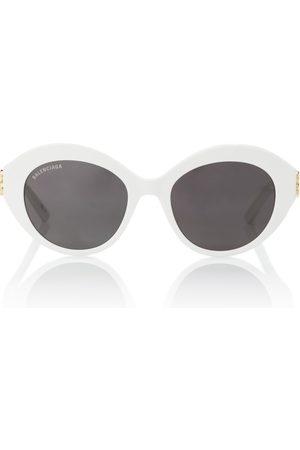 Balenciaga Oval acetate sunglasses