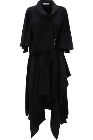 J.W.Anderson Women Asymmetrical Dresses - Belted asymmetric dress