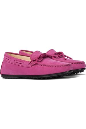 Tod's New City Gommino suede moccasins