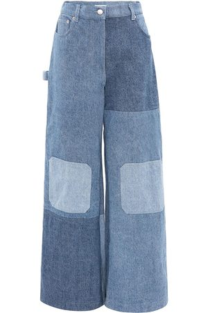 J.W.Anderson Patchwork wide-leg jeans