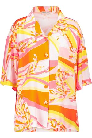Emilio Pucci Women Short Sleeve - Lilly printed shirt