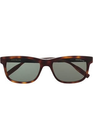 Mont Blanc Rectangle-frame sunglasses