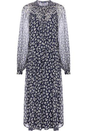 Polo Ralph Lauren Women Printed Dresses - Floral midi dress