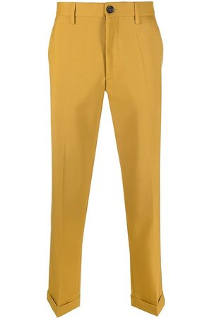Marni Men Chinos - High-rise chino trousers