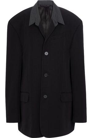 Balenciaga Women Blazers - Oversized twill blazer