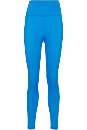 Lanston Women Leggings - Row mid-rise leggings