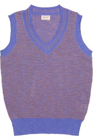MORLEY Norton cotton-blend sweater vest