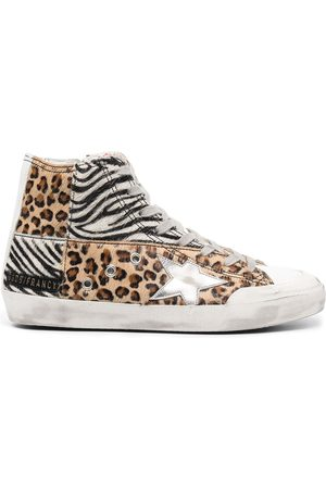 Golden Goose Women Sneakers - Multi-panel design sneakers