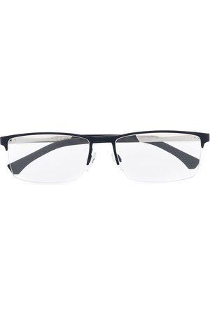 Emporio Armani Men Sunglasses - Logo square glasses