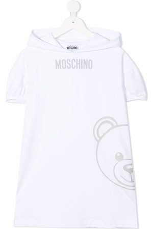 Moschino Teddy-print sweartshirt dress