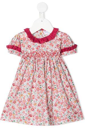 SIOLA Floral-print ruffled dress