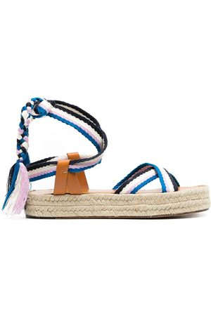 Isabel Marant Women Espadrilles - Woven-strap espadrille sandals