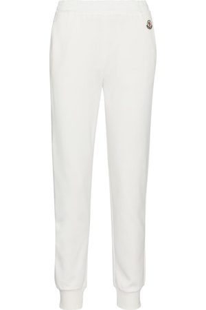 Moncler Women Pants - Cotton-blend trackpants