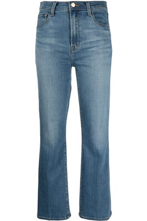 J Brand Women Bootcut & Flares - Franky cropped bootcut jeans