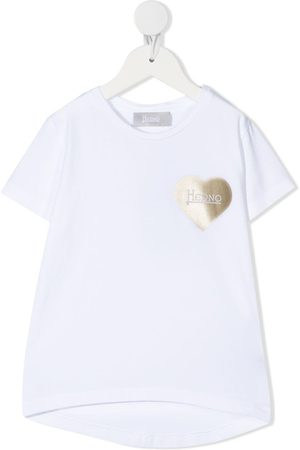 HERNO Chest-heart T-shirt