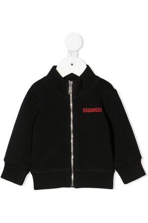Dsquared2 Boys Bomber Jackets - Icon-print jacket