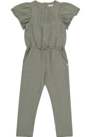 Tartine Et Chocolat Girls Jumpsuits - Linen jumpsuit