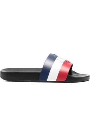 Moncler Women Sandals - Basile tricolour slides